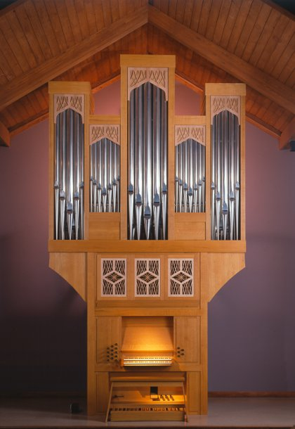 Epiphany Episcopal Church, Timonium, Maryland:  Richard Howell organ